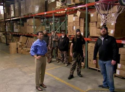News video: 'Duck Dynasty': The Governor Visits Duck Commander