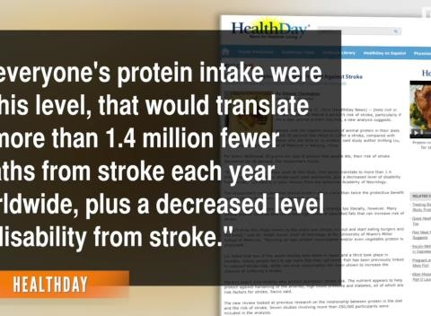News video: Protein-Rich Diet Might Protect Against Stroke