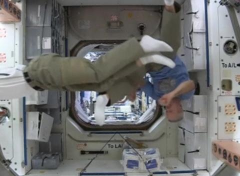 News video: Astronauts on the International Space Station Join the World Cup Frenzy