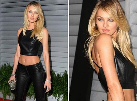 News video: Candice Swanepoel Is Candice Schwing-Poel At Maxim Party.