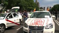 News video: European taxi drivers stage day-long demonstration
